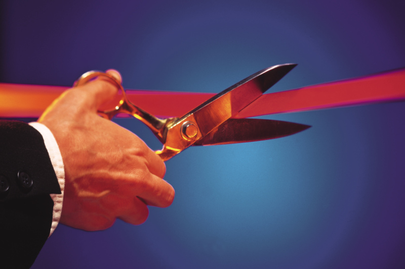 Four Ribbon Cuttings at Warren Place on June 1