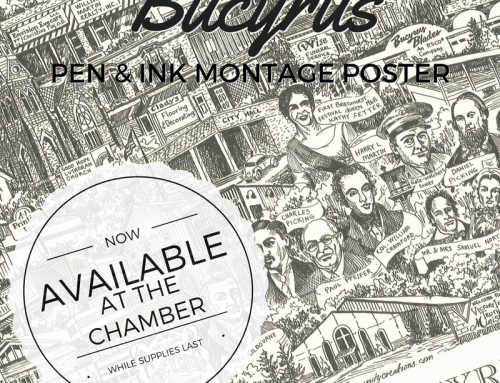 Bucyrus Pen & Ink Montage Posters