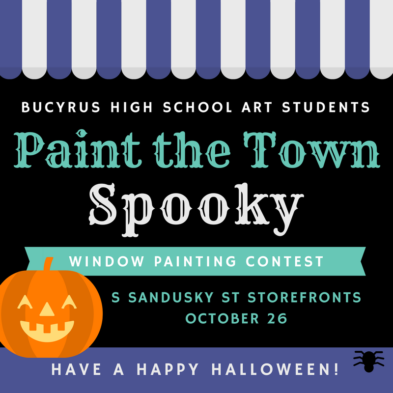 Paint the Town Spooky