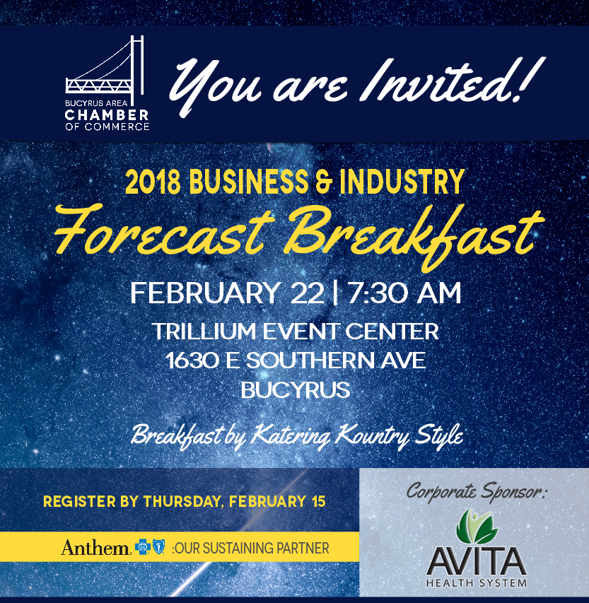 Join Us for the 2018 Forecast Breakfast!