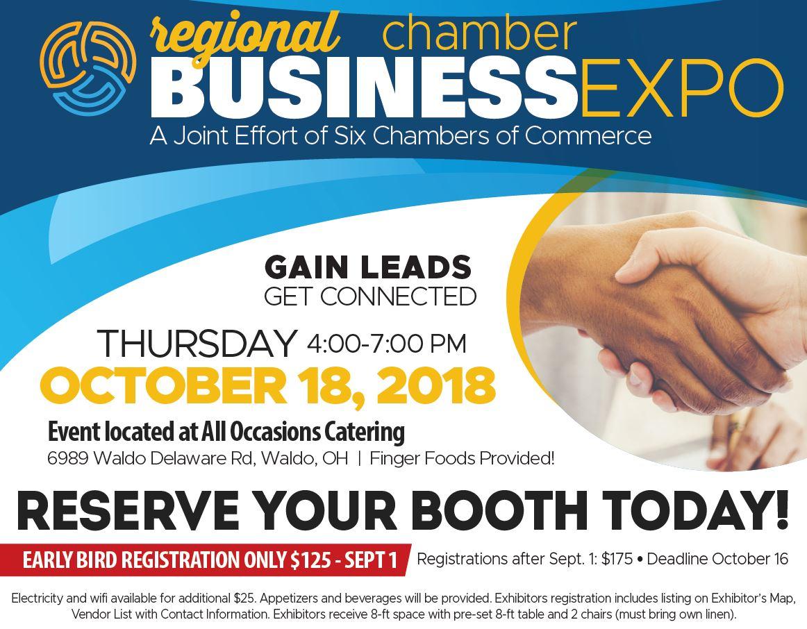 Waldo Ohio Map.Regional Chamber Business Expo Bucyrus Area Chamber Of Commerce
