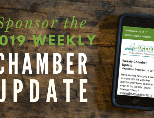 Sponsor the Weekly Chamber Update!
