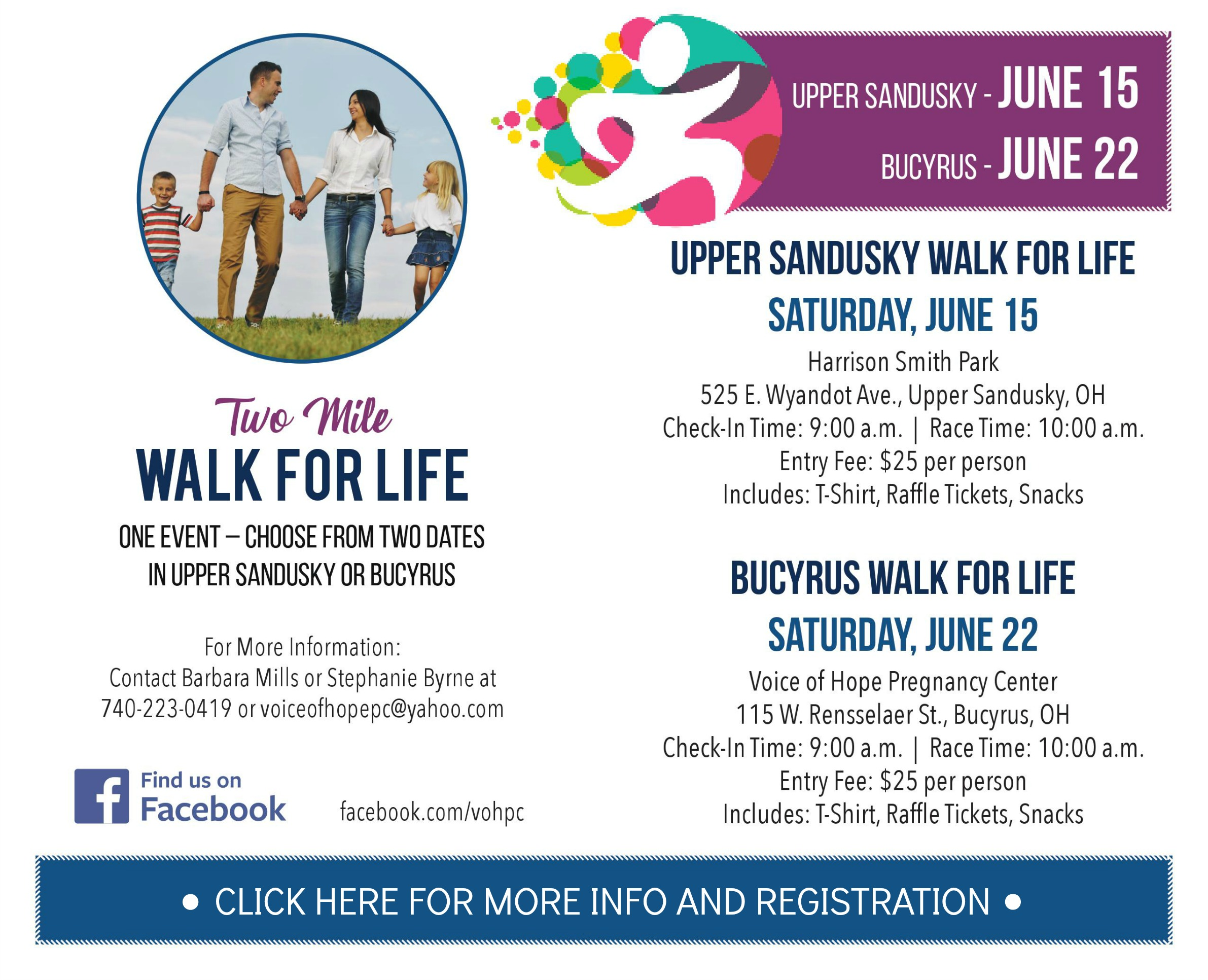 Voice of Hope Walk for Life Bucyrus – Bucyrus Area Chamber