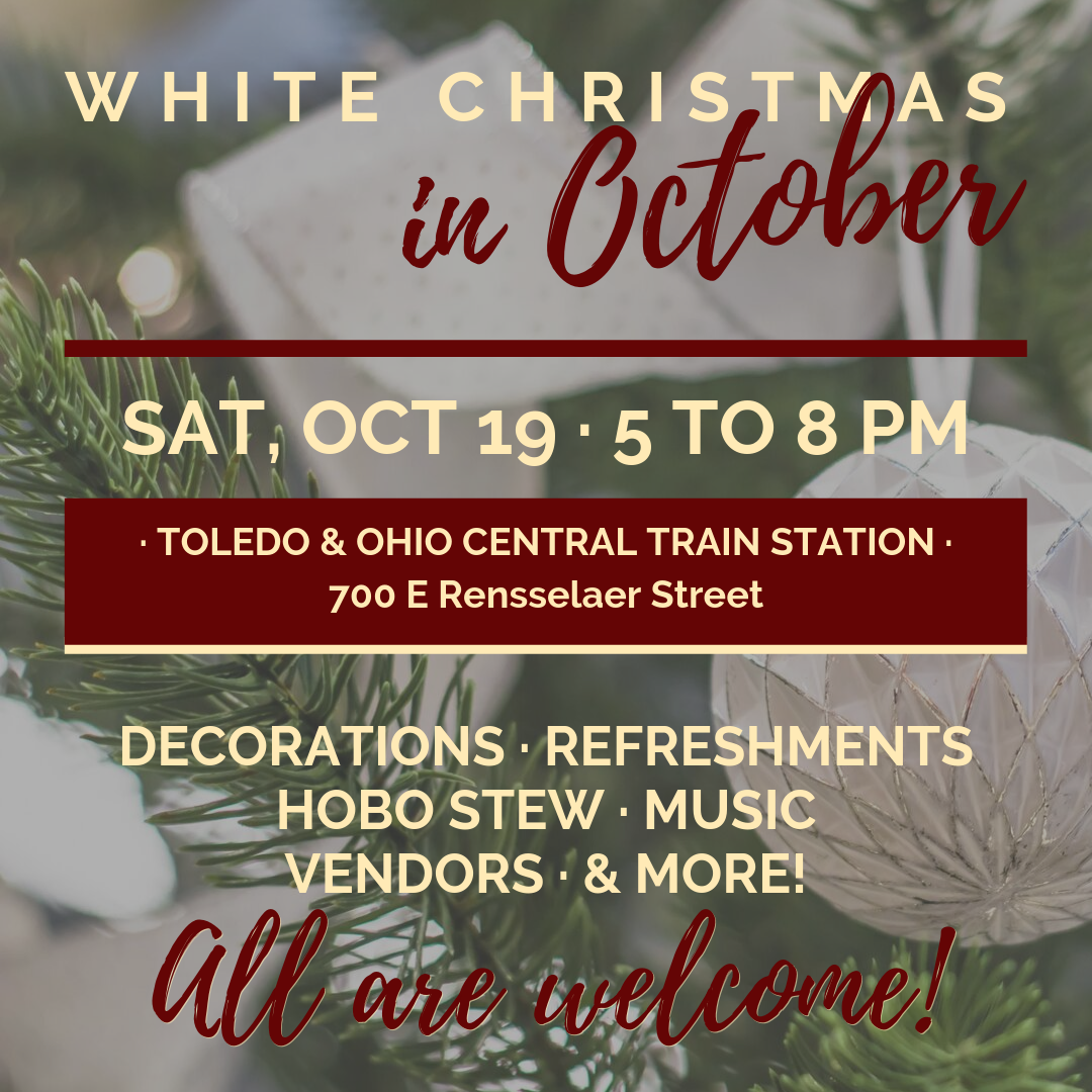 Christmas Music Radio Stations 2019.White Christmas In October At T Oc Train Station Bucyrus