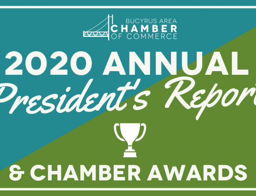 Bucyrus Area Chamber of Commerce Closes 2020 with Annual President's Report & Chamber Awards